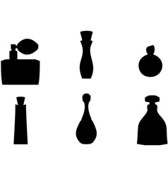 Perfume bottle vector
