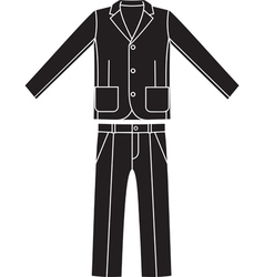 Coats and pants vector