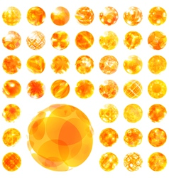 Abstract sunny vector