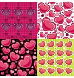 Wallpaper valentine vector