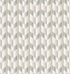 Chevron white and silver vector