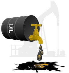 Oil business vector
