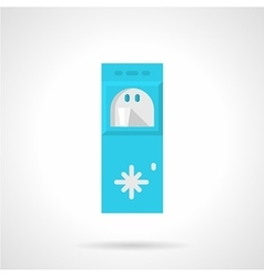 Flat icon for water cooler vector