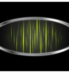 Shiny light green stripes vector