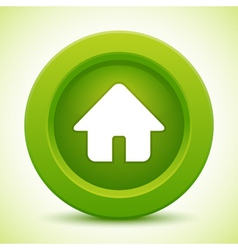 Real estate green button vector