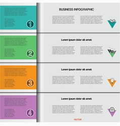 Infographic 4 vector