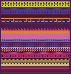 Spring collection of ornamental patterns and lines vector