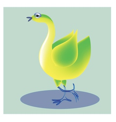 Cheerful bird3 vector