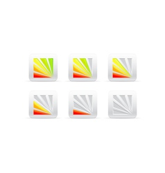 Segmental color indicator vector