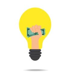 Idea concept make money vector