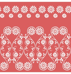 Swirling decorative floral elements ornament vector