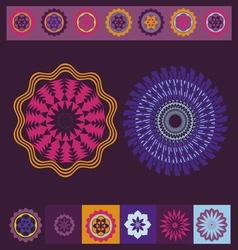 Spring meditation print vector