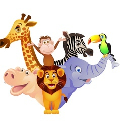Animal cartoon vector