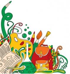 School doodles vector