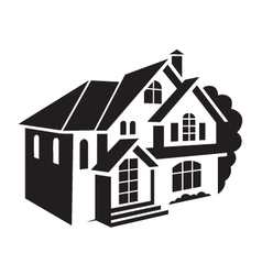 Private house vector