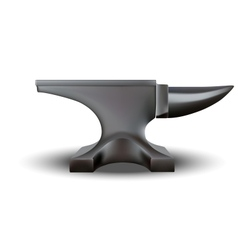 Anvil isolated vector