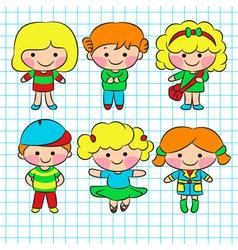 Children vector