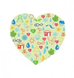 Environmental heart vector