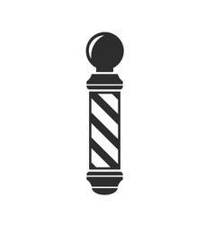 Barber shop pole sign vector