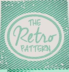 Retro and vintage background design vector