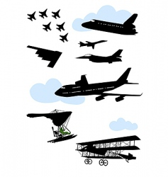 Airplane8 vector
