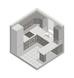 Kitchen vector