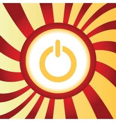 Power abstract icon vector