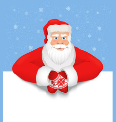Santa claus copy space vector