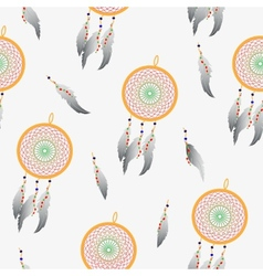 Pattern indian dream catcher vector