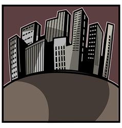 Cityscape art vector