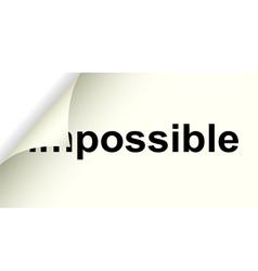 Possible vector