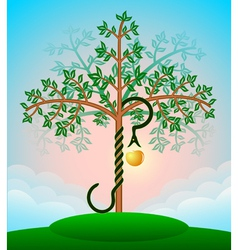 Bible tree vector