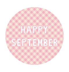 Happy september background4 vector