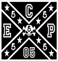 Ecp flag five vector