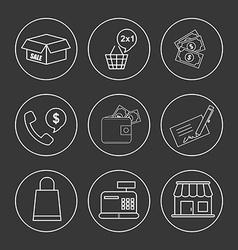 Shoppping concept vector