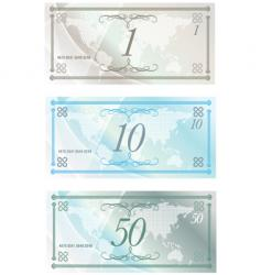 Money notes vector