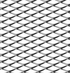 Chain-link fence seamless pattern vector
