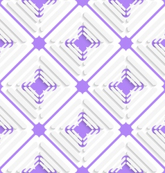 Diagonal offset squares and purple net pattern vector