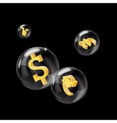 Forex bubbles vector