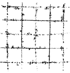 Scratched grid vector