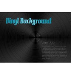 Vinyl blue vector