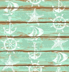 Boards of ship deck seamless pattern vector