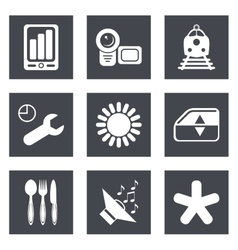 Icons for web design set 50 vector