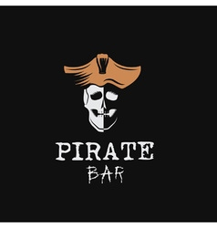 Pirate bar vector