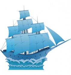 Blue dream vector