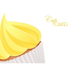 Cupcake close up background3 vector