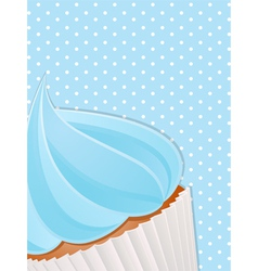 Cupcake close up background4 vector