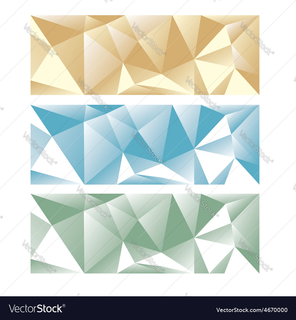 Abstract low poly panoramic backgrond vector | Price: 1 Credit (USD $1)
