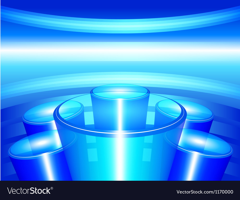 Abstract pedestal vector | Price: 1 Credit (USD $1)