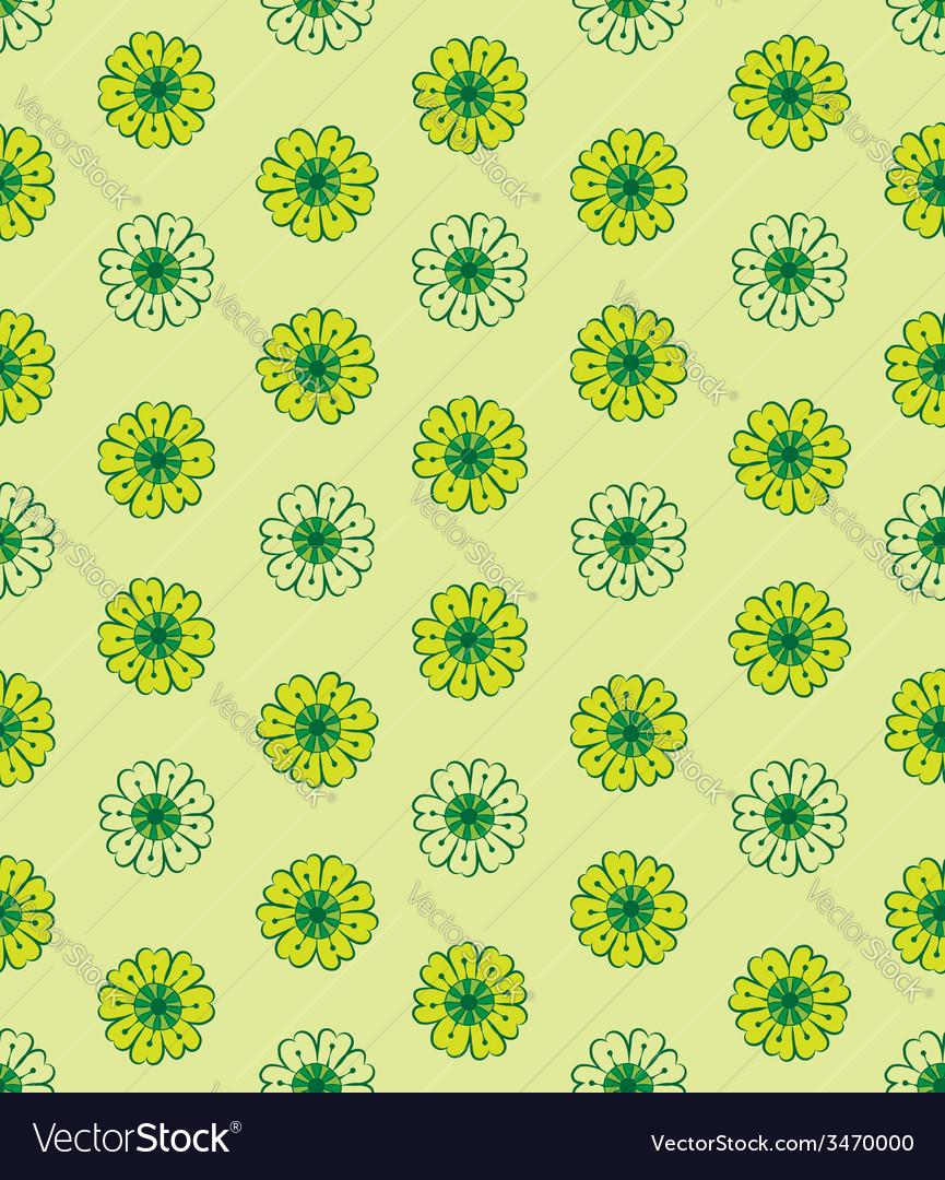 Chamomile pattern vector | Price: 1 Credit (USD $1)